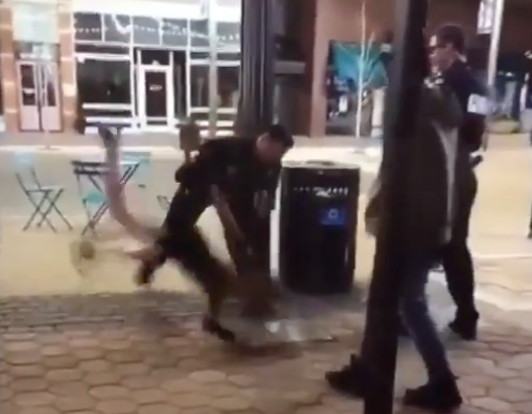 Coloradan Police Officer Suspended After Video of Him Throwing Woman on Ground Goes Viral